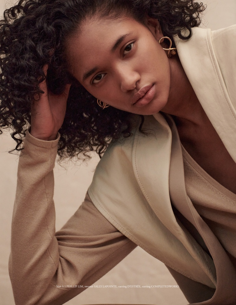 Aleya Ali Wears Safari Fashion for Vestal Magazine