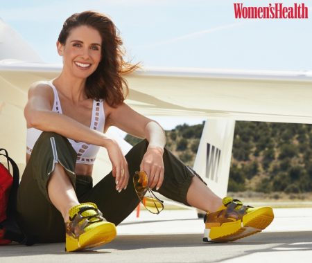 Alison Brie Poses in Cool Girl Looks for Women's Health