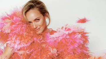 Amber Valletta Embraces Statement Styles for CR Fashion Book