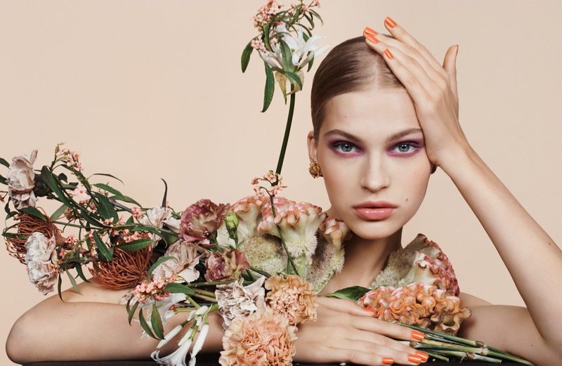Aivita & Yoon Stun in Spring Beauty for Dior Magazine