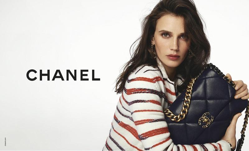 Marine Vacth fronts Chanel handbags spring-summer 2020 campaign
