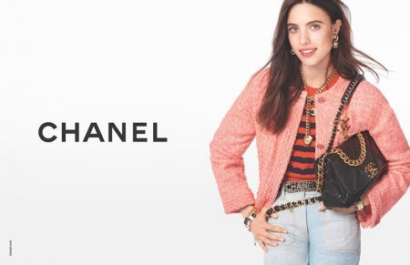 Margaret Qualley stars in Chanel handbags spring-summer 2020 campaign