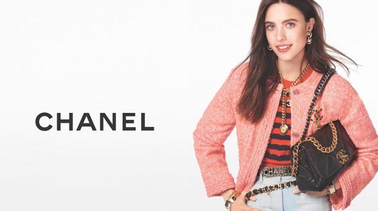 Margaret Qualley stars in Chanel handbags spring-summer 2020 campaign