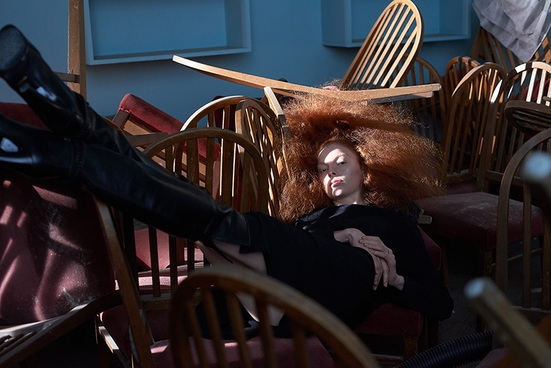 Eline Bo Takes On Quarantine Style for Vogue Portugal