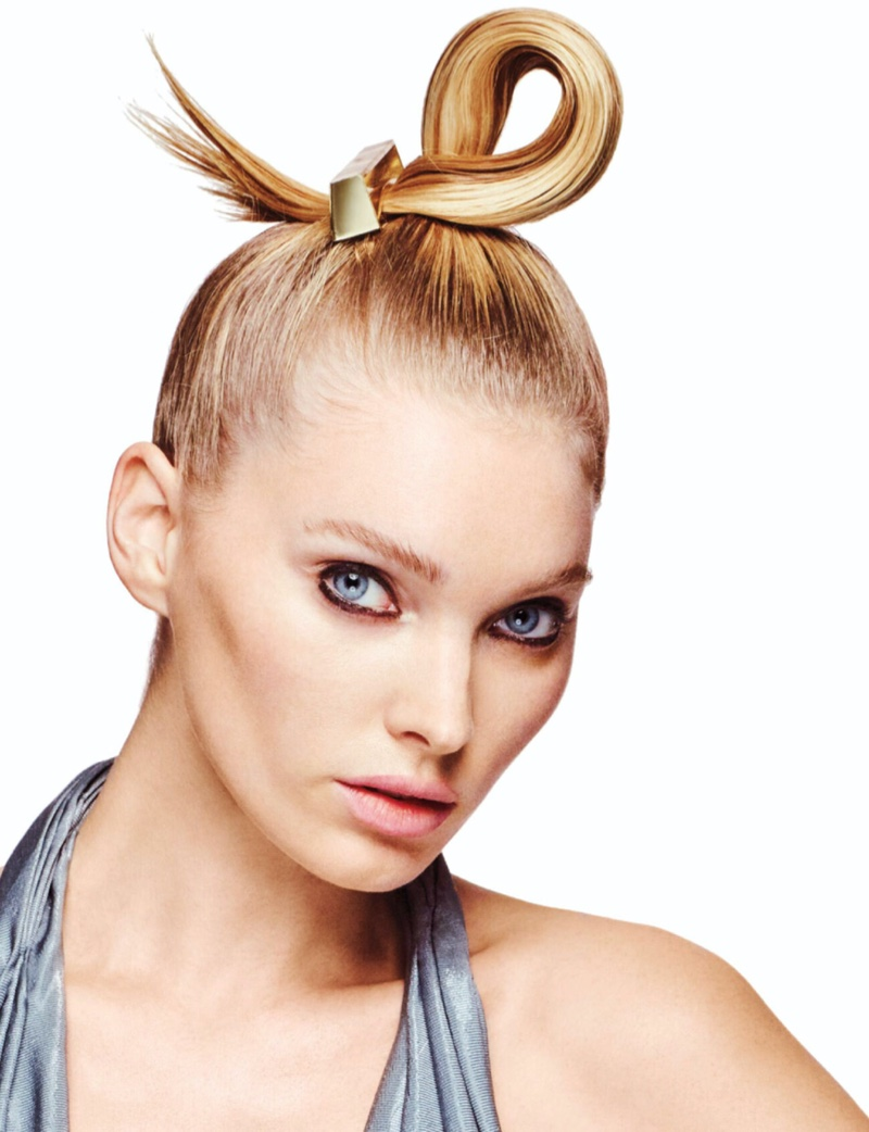 Elsa Hosk Takes the Spotlight for Vogue Hong Kong