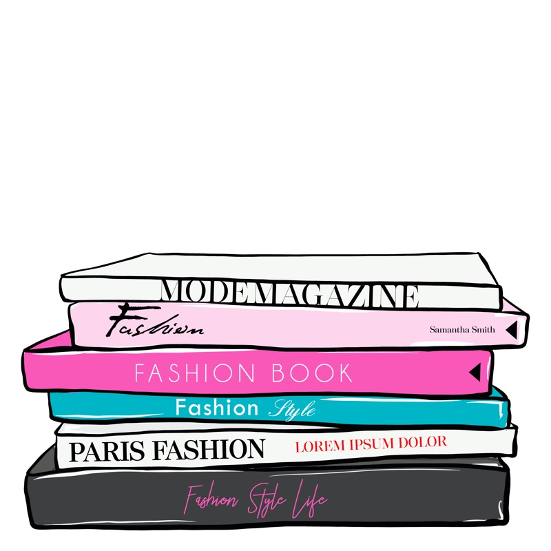 Fashion Books Illustration