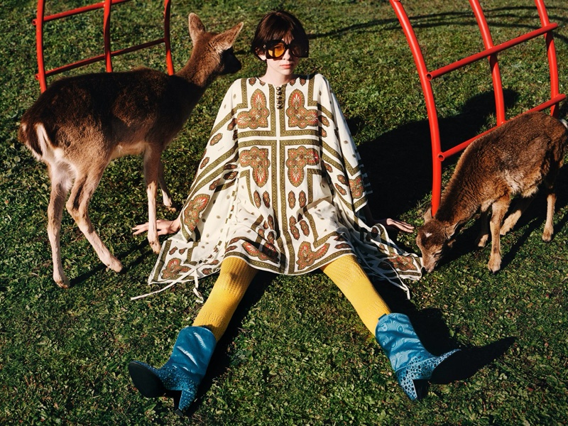 Gucci's Pre-Fall 2020 Campaign is for Animal Lovers