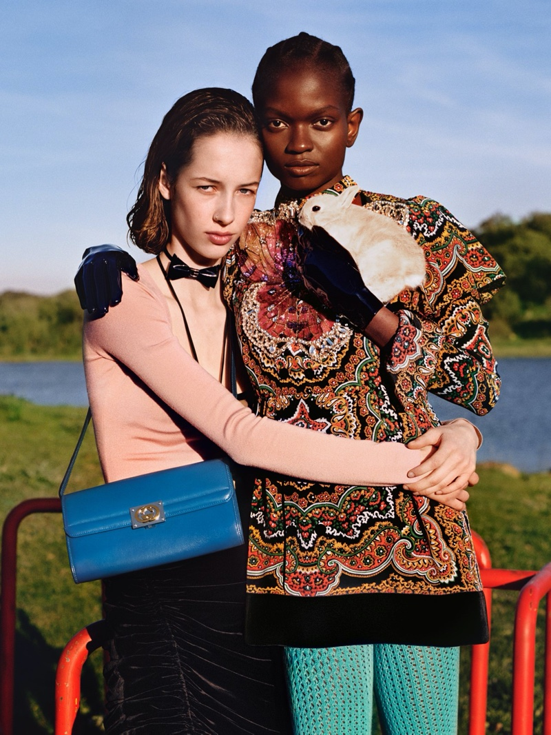 An image from Gucci's pre-fall 2020 campaign.