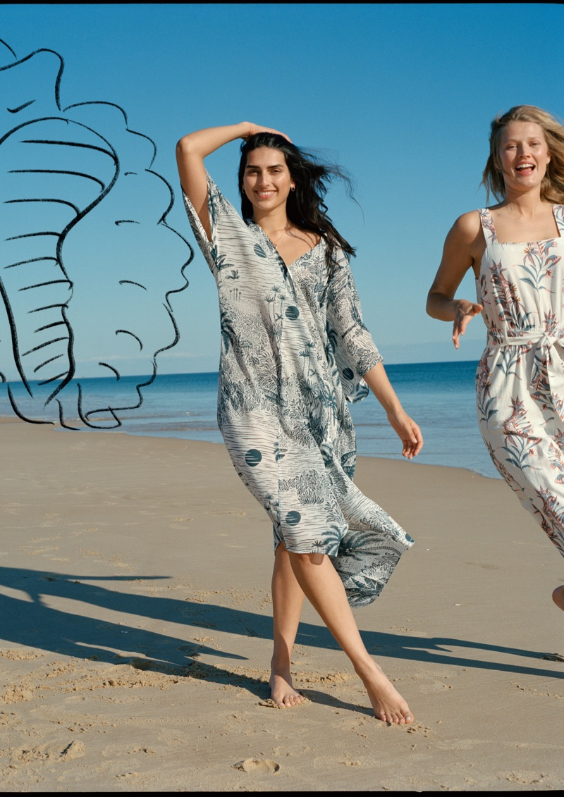H&M teams up with British brand Desmond & Dempsey on collaboration.