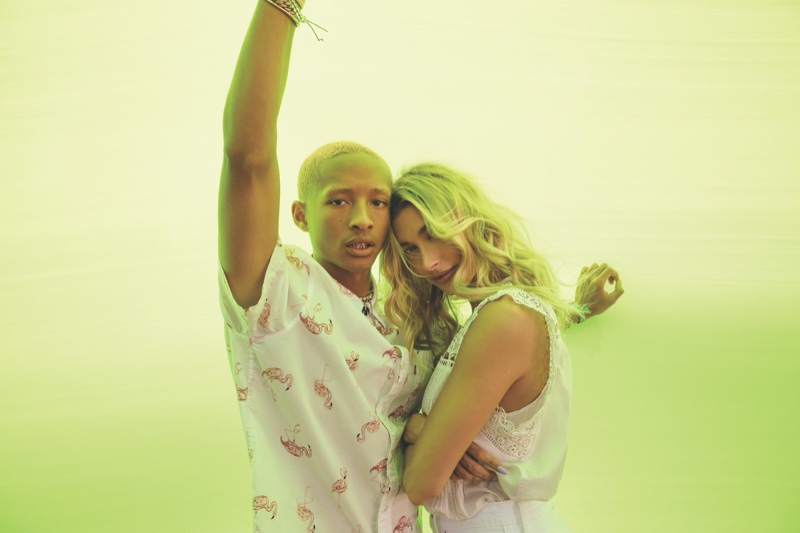 Levi's unveils Festival 2020 campaign with Hailey Baldwin and Jaden Smith.