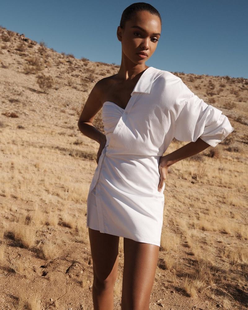 Model Samantha Archibald fronts Intermix spring-summer 2020 campaign