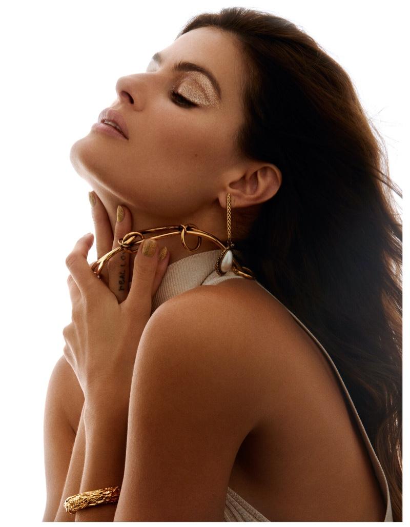 Isabeli Fontana Embraces Spring Beauty for Vogue Greece
