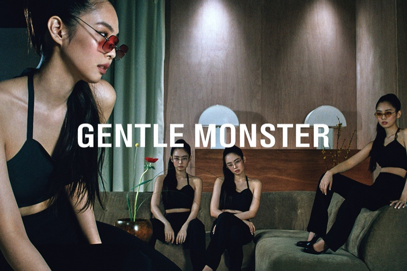 Gentle Monster links up with Jennie for eyewear collaboration
