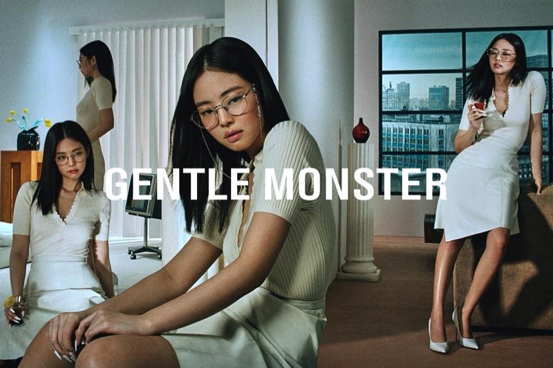 Jennie designs eyewear with Gentle Monster
