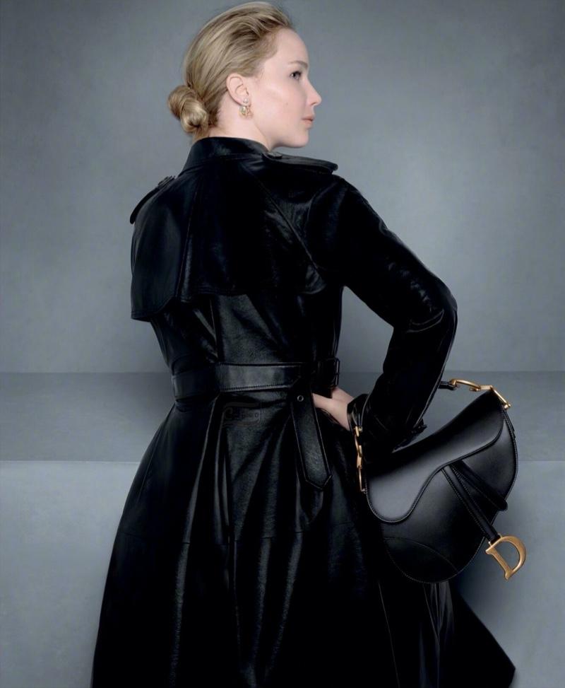 Jennifer Lawrence poses in Dior pre-fall 2020 campaign