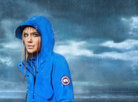 Kate Upton stars in Canada Goose spring-summer 2020 campaign.