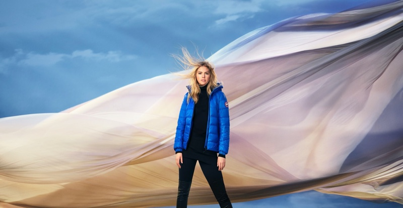 Supermodel Kate Upton fronts Canada Goose spring-summer 2020 campaign.