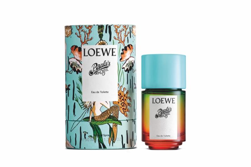 A look at the Loewe Paula's Ibiza perfume bottle.
