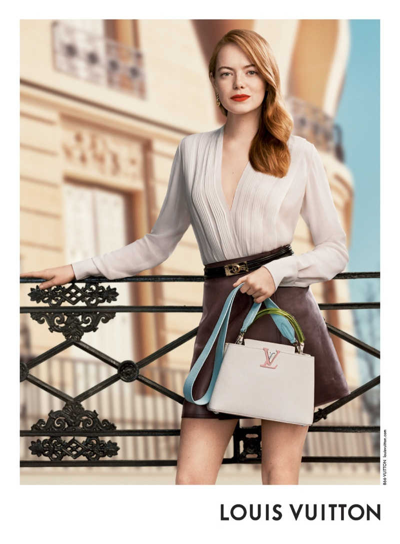Actress Emma Stone appears in Louis Vuitton pre-fall 2020 campaign