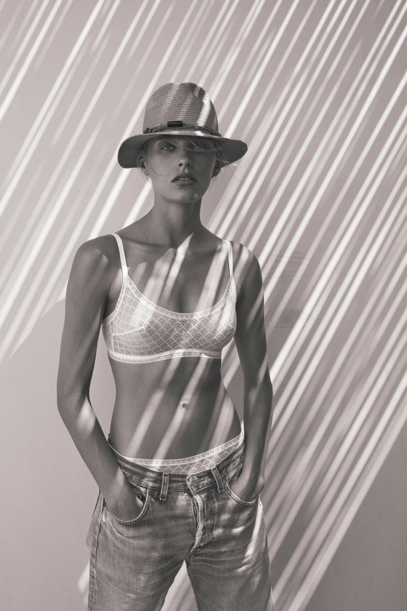 Madison Headrick stars in Eres spring-summer 2020 campaign