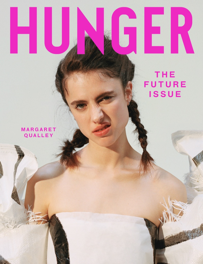 Margaret Qualley on Hunger Magazine Issue #18 Cover. Photo: Daria Kobayashi Ritch for Hunger Magazine