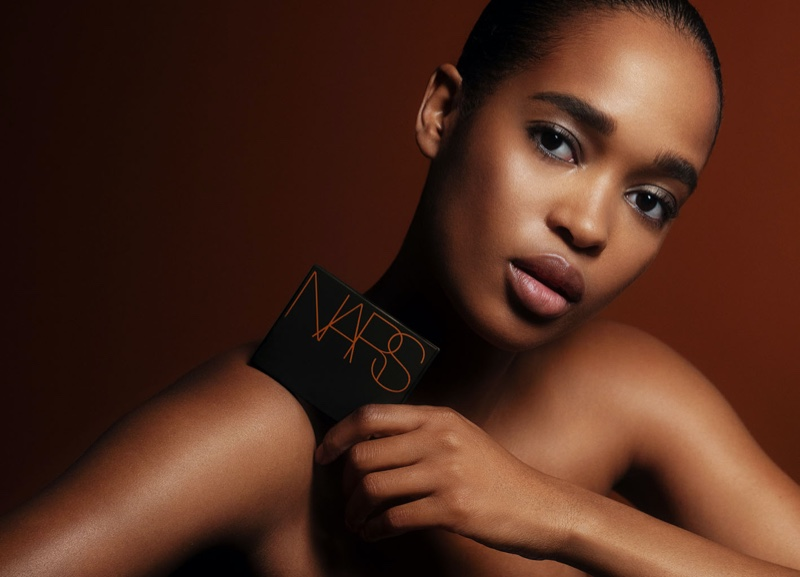 Marihenny Rivera poses for NARS Cosmetics. Photo: David Roemer