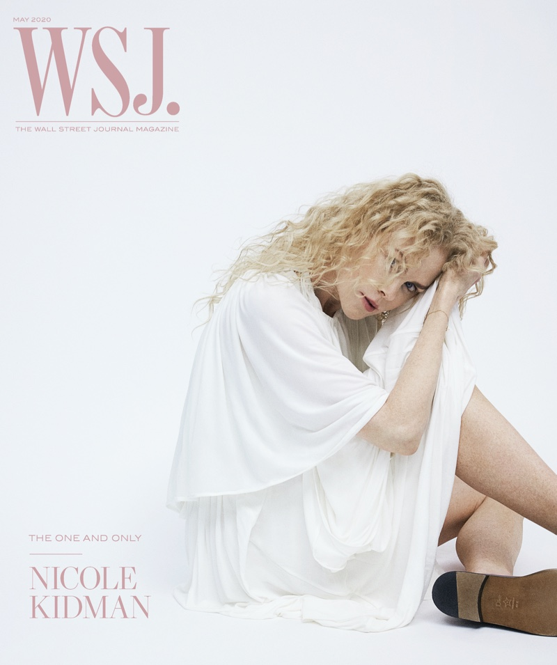 Nicole Kidman on WSJ. Magazine May 2020 Cover.
