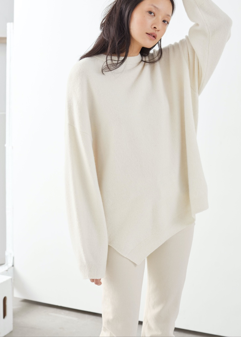 & Other Stories Oversized Wool Blend Sweater $89