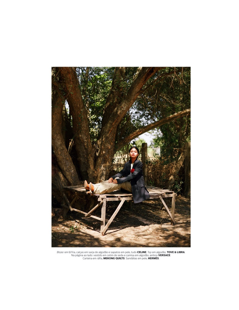 Alexane & Noun Pose in Sunny Styles for Vogue Portugal