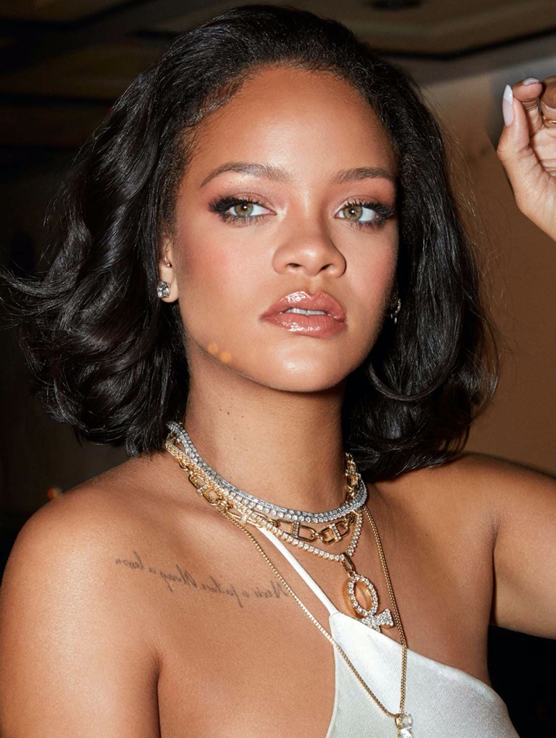 Rihanna stars in Fenty Beauty Cheeks Out Freestyle Cream Blush campaign