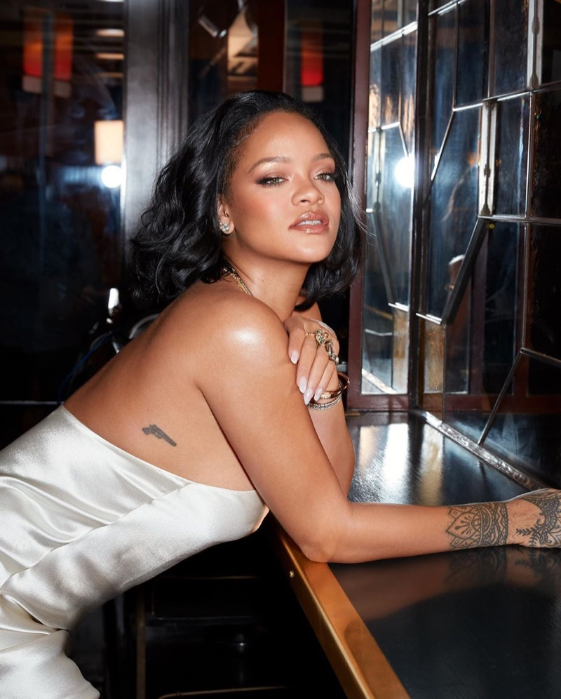 Fenty Beauty unveils Cheeks Out Freestyle Cream Blush campaign with Rihanna.