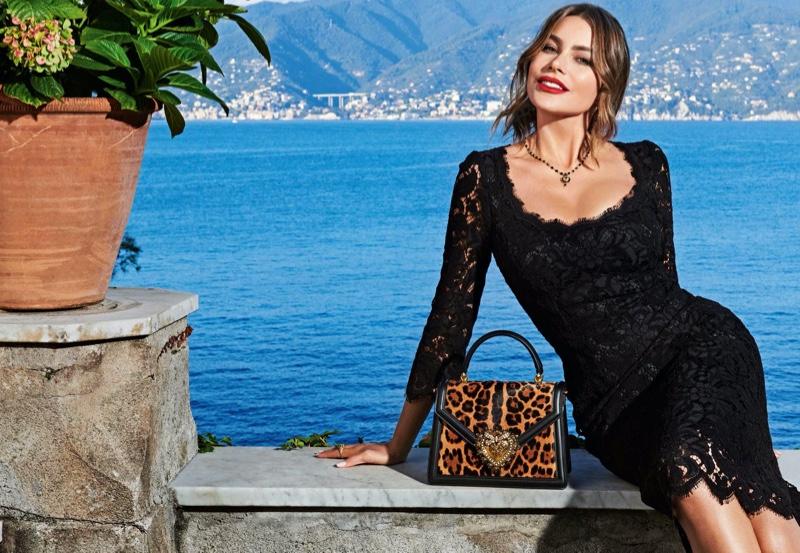 Actress Sofia Vergara appears in Dolce & Gabbana Devotion handbag campaign