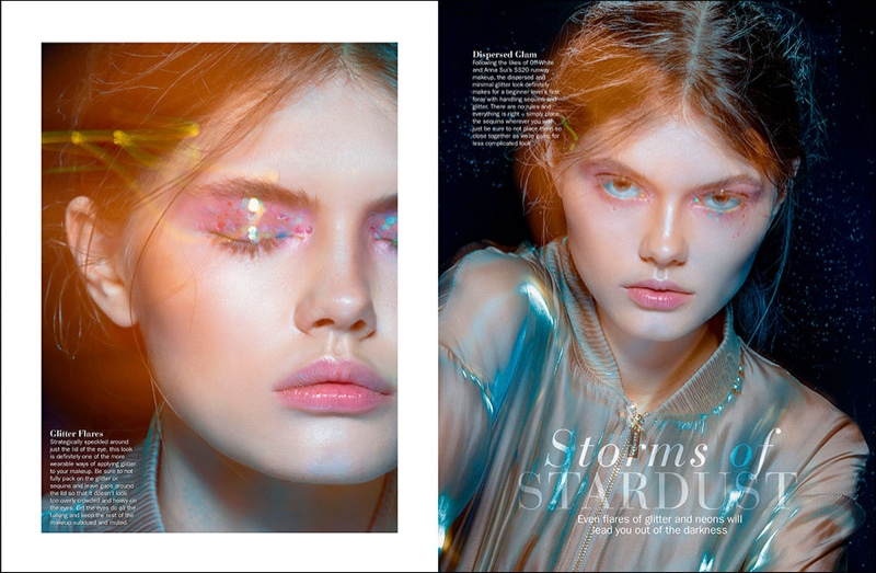 Konstancja Dazzles in Marie Claire Malaysia Beauty