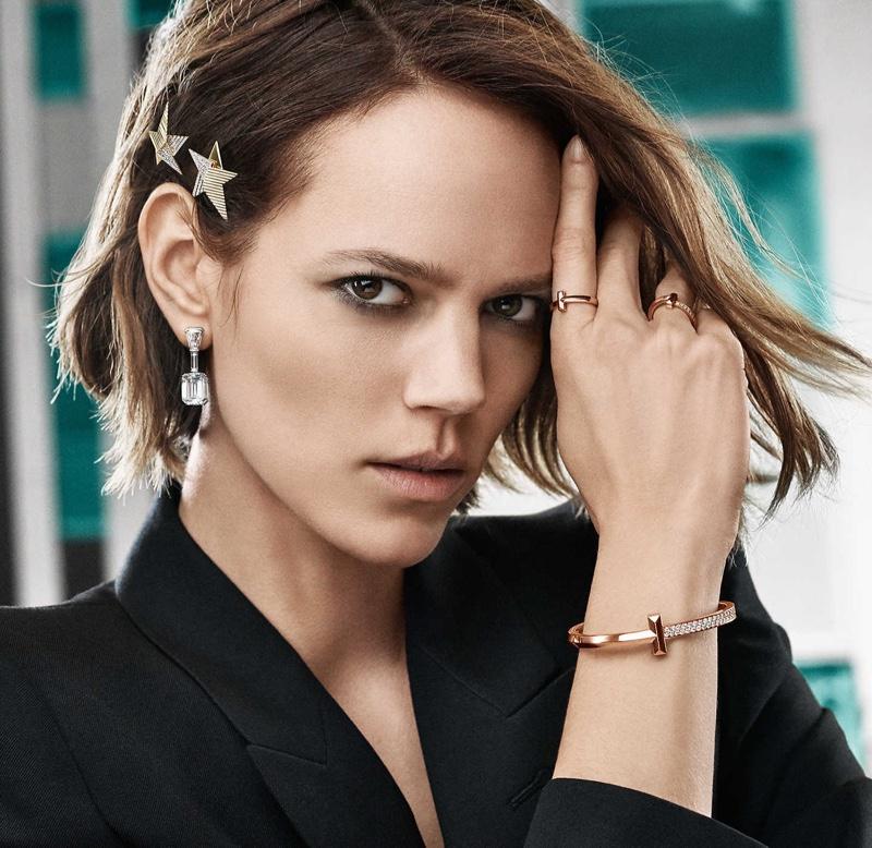 Freja Beha Erichsen fronts Tiffany & Co. T1 campaign