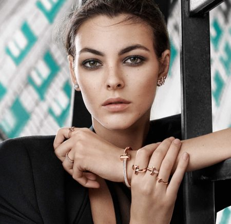Vittoria Ceretti stars in Tiffany & Co. T1 campaign