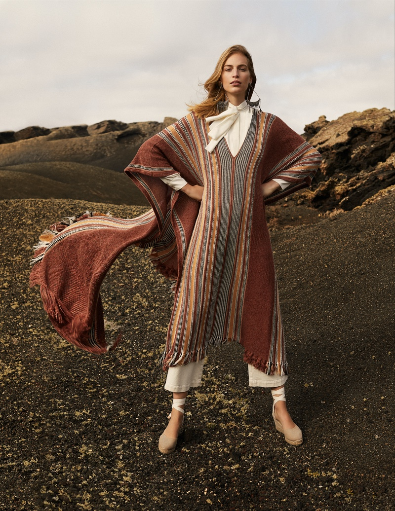 Vanessa Axente Embraces Outdoor Fashion in Harper's Bazaar Spain