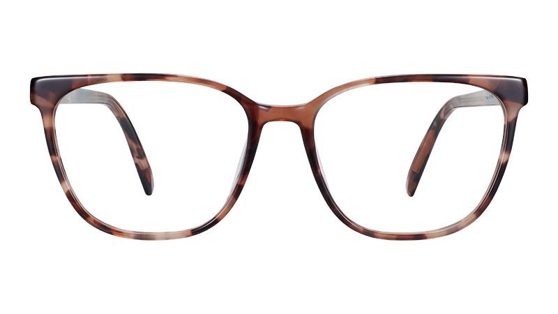 Warby Parker Esme Glasses in Sesame Tortoise $95