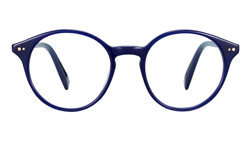 Warby Parker Morgan Glasses in Baltic Blue $95