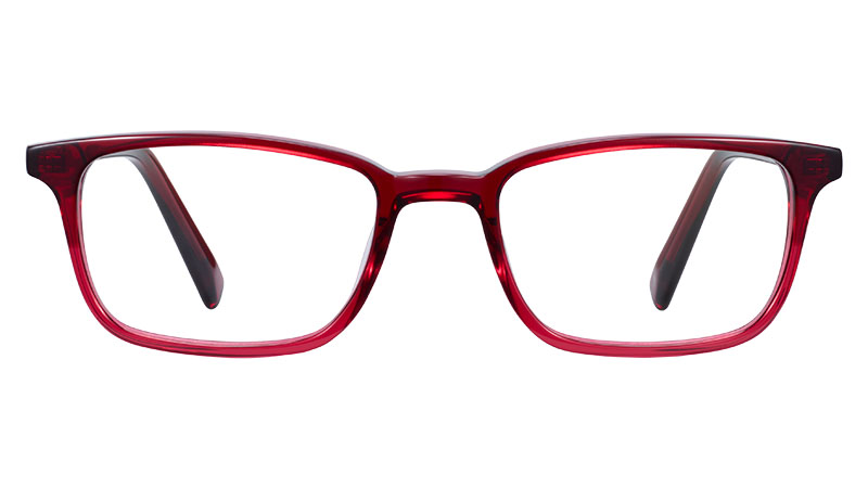 Warby Parker Oliver Glasses in Berry Crystal Fade $95