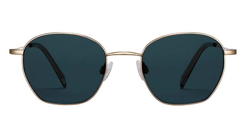 Warby Parker Robbie Sunglasses in Polished Gold $145