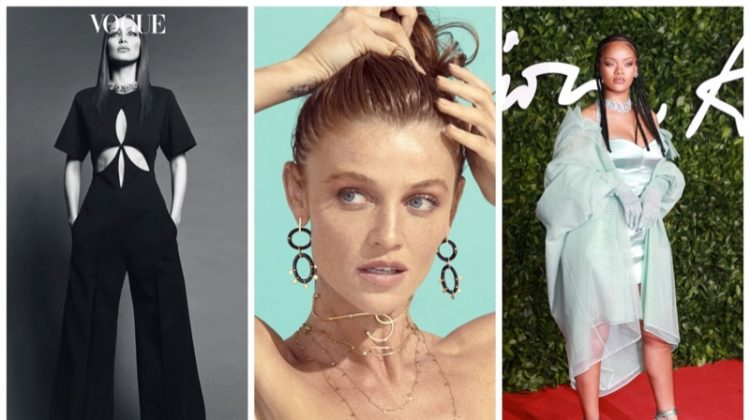 Week in Review | Bella Hadid's New Cover, Cintia Dicker for Animale, Rihanna on Vogue UK + More