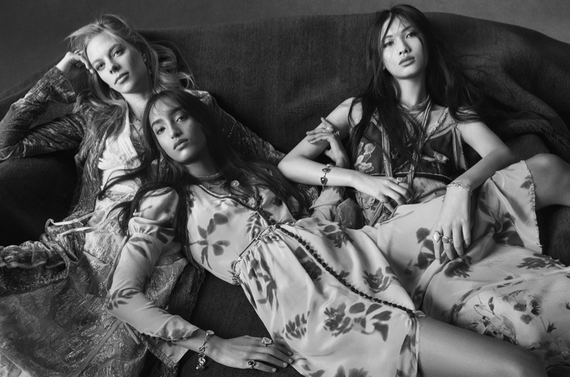 Lexi Boling, Mona Tougaard and Xing star in Zara spring-summer 2020 campaign