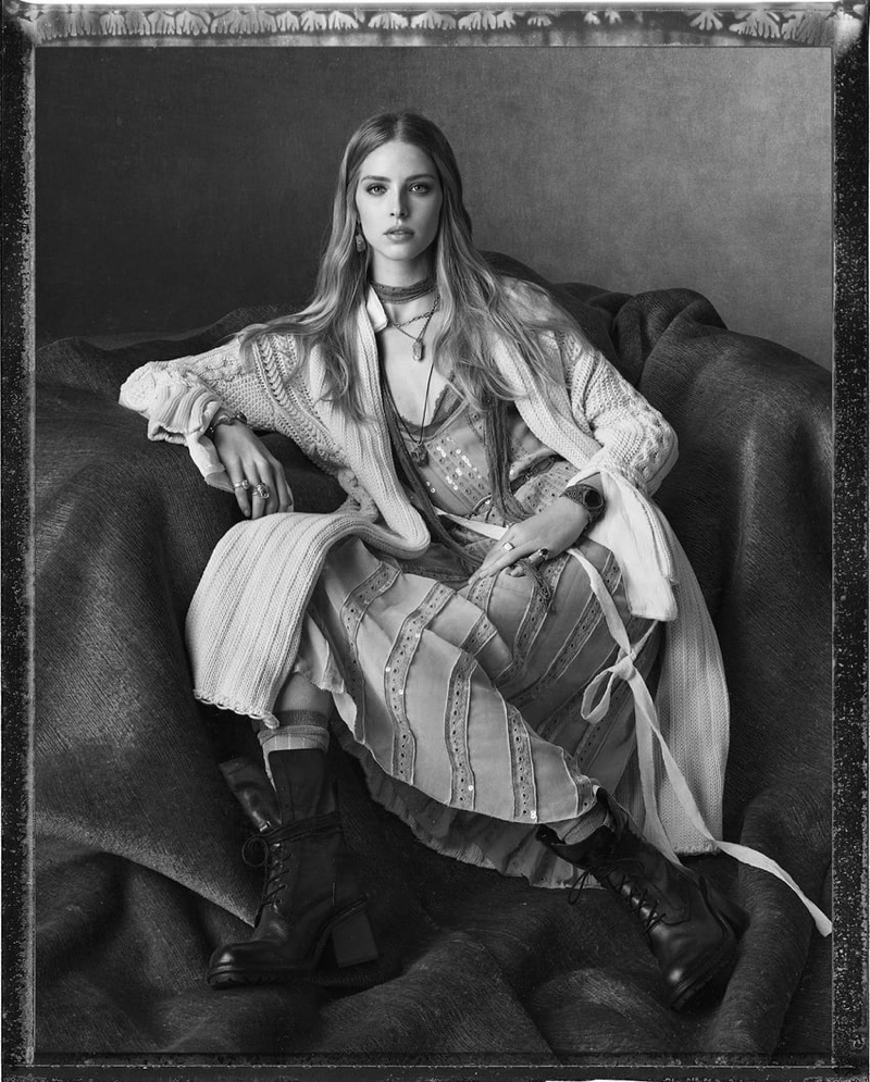 Abby Champion fronts Zara spring-summer 2020 campaign