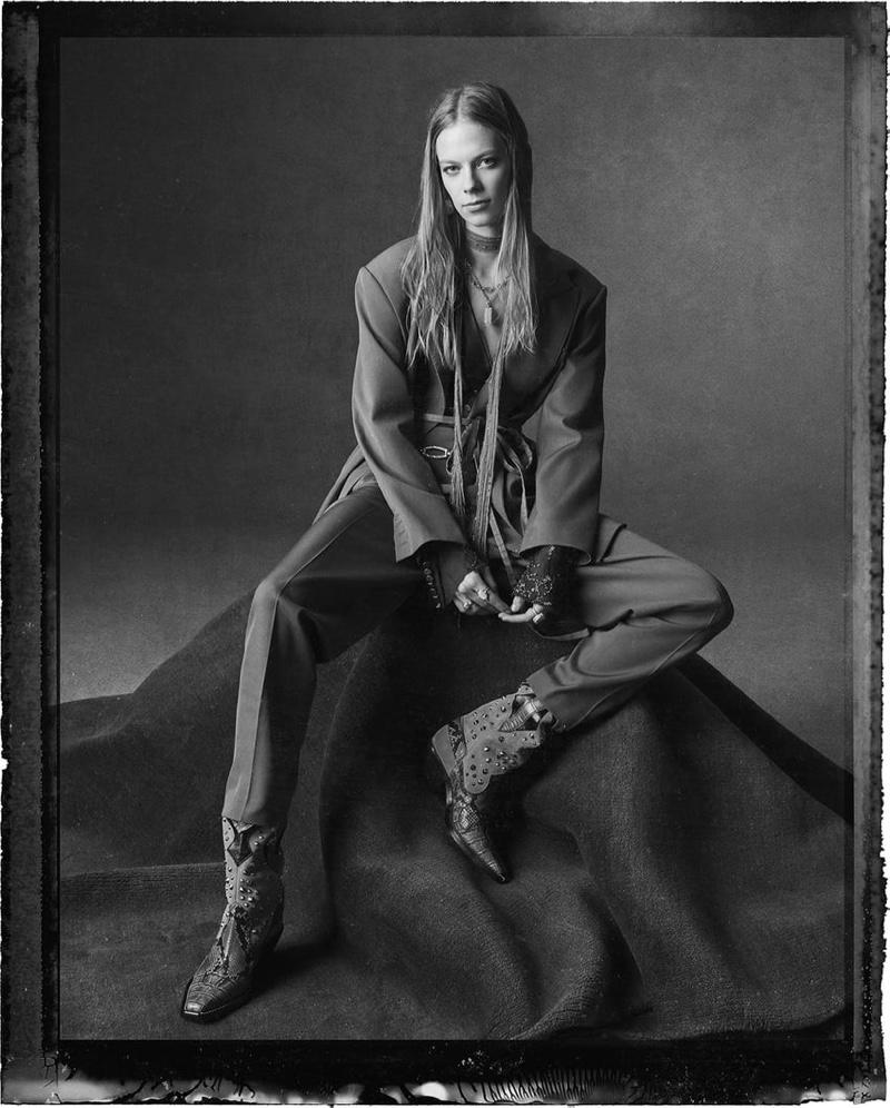 Lexi Boling stars in Zara spring-summer 2020 campaign
