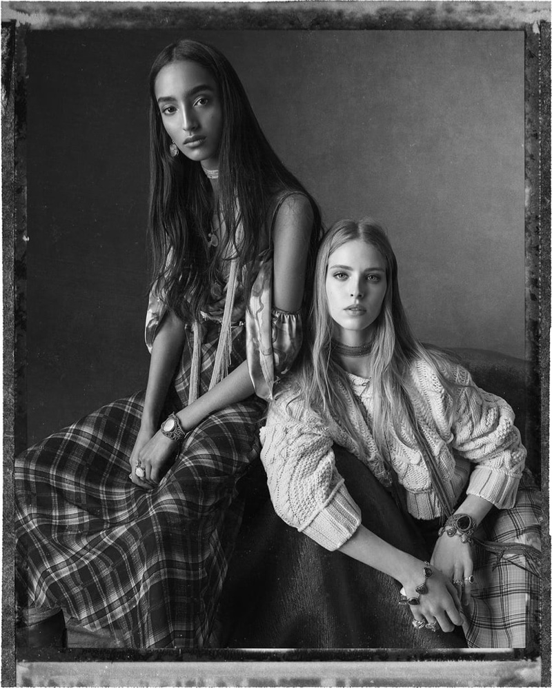 An image from Zara's spring 2020 advertising campaign