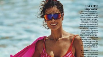 Alessandra Ambrosio is Ready for Swimsuit Season in ELLE Spain