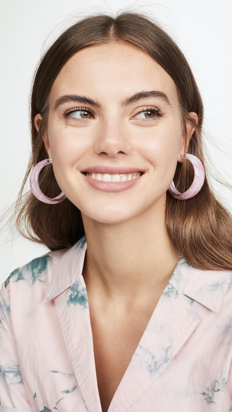 Alison Lou Tie Dye Jelly Hoops