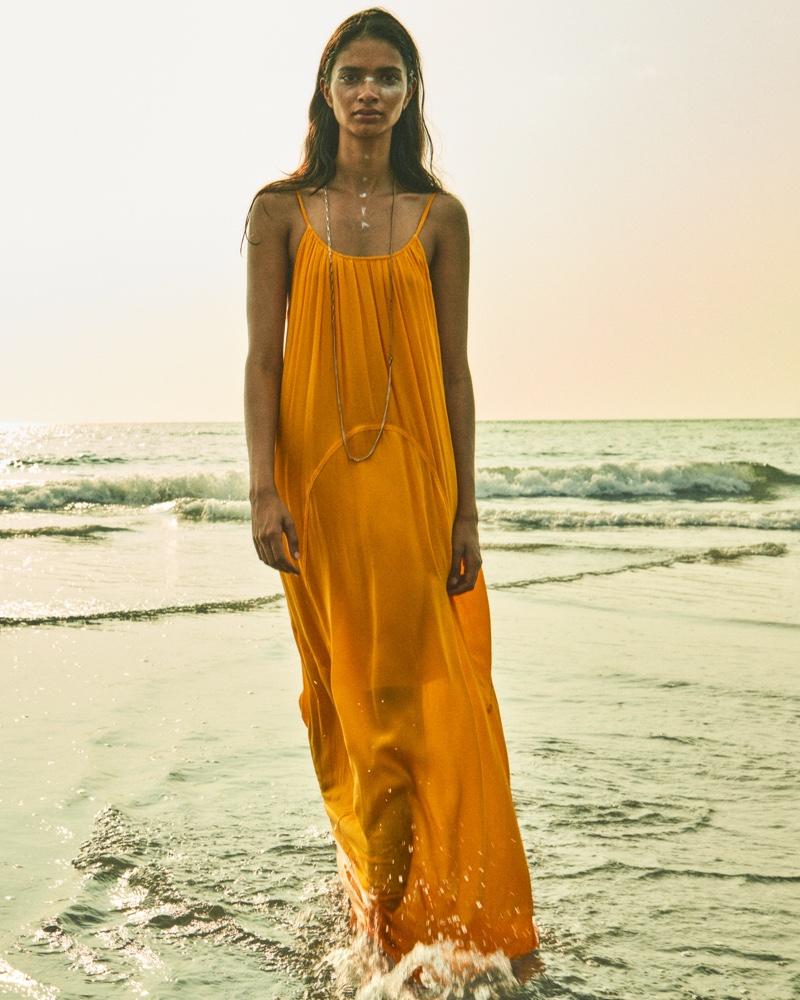 Priya Jain appears in AllSaints Instant Summer 2020 campaign.