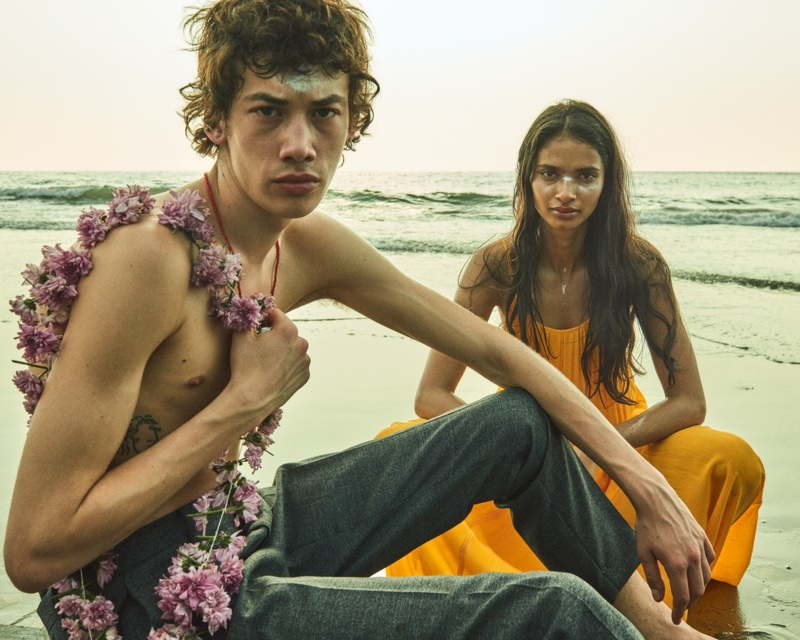 AllSaints focuses on bohemian style for its Instant Summer 2020 campaign.