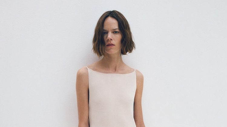 Freja Beha Erichsen appears in COS spring-summer 2020 campaign.